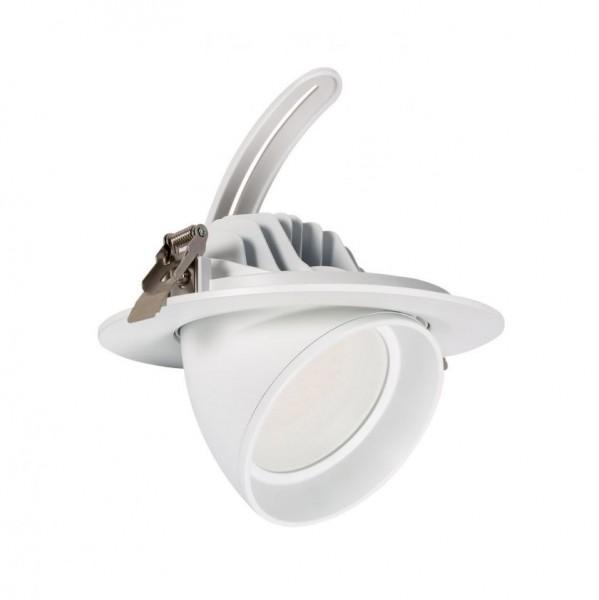 LED Einbaustrahler/ Downlight schwenkbar, 38W, Lichtfarbe 3000K warmweiß