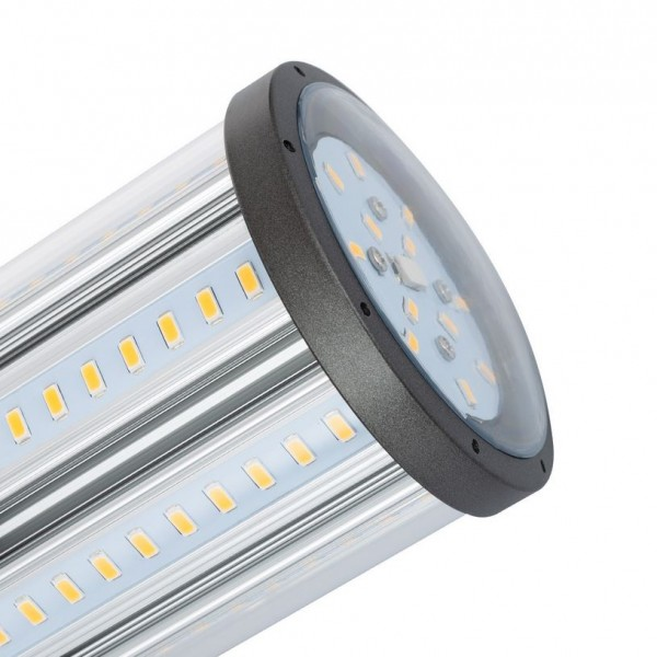 LED Straßenbeleuchtung E27, 35 Watt, Lichtfarbe 3000K warmweiß, Lichtstrom ~3600lm