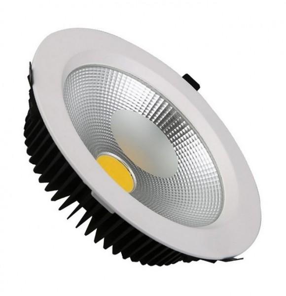 LED Einbaustrahler/ Downlight 30 Watt Lichtfarbe 6000K tageslichtweiß, 2540 lm
