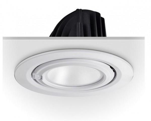 LED Einbaustrahler/ Downlight schwenkbar LEDL-60-830-250-9010, 3000K, 60W, 6900 lm