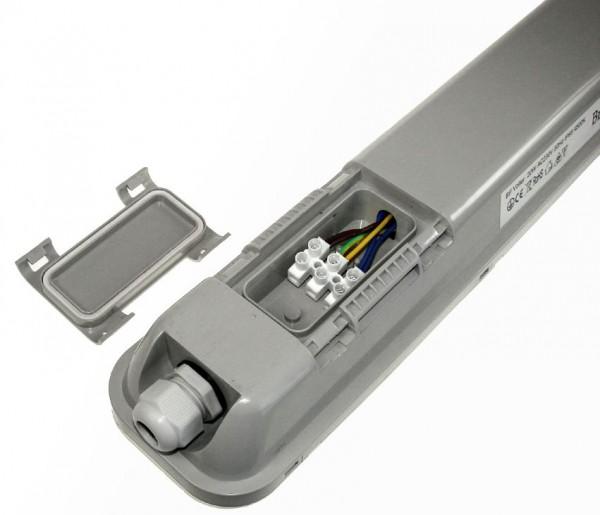 LED Modul-Wannenleuchte 150cm FÜR DURCHGANGSVERDRAHTUNG GEEIGNET 4500K ~4880 Lumen