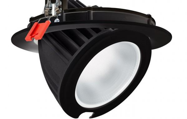 LED Einbaustrahler/ Downlight schwenkbar 48 Watt Lichtfarbe wählbar