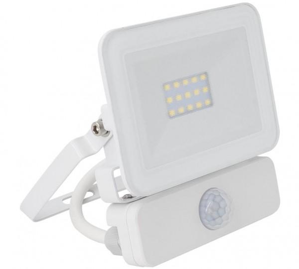 LED Außenstrahler 10 Watt IP65 mit Bewegungsmelder, 10 Watt, Lichtfarbe 4500K