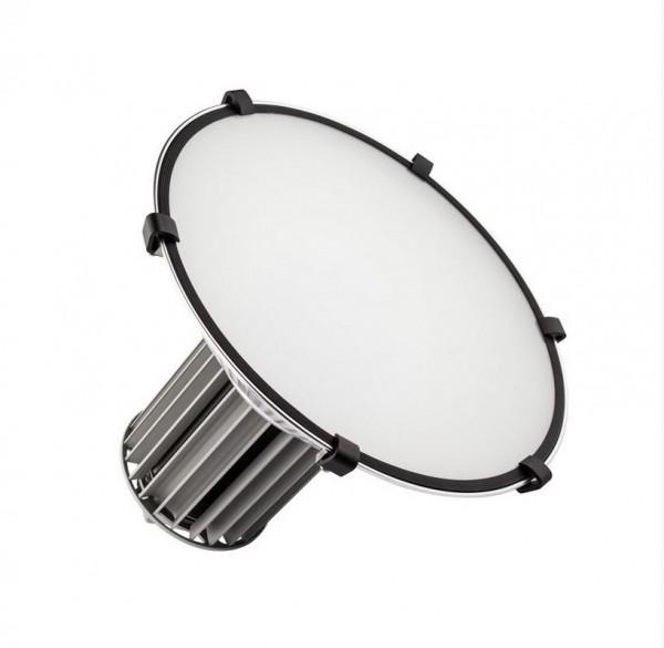 Milchglasabdeckung für LED Hallenstrahler/ Industriestrahler LEHS