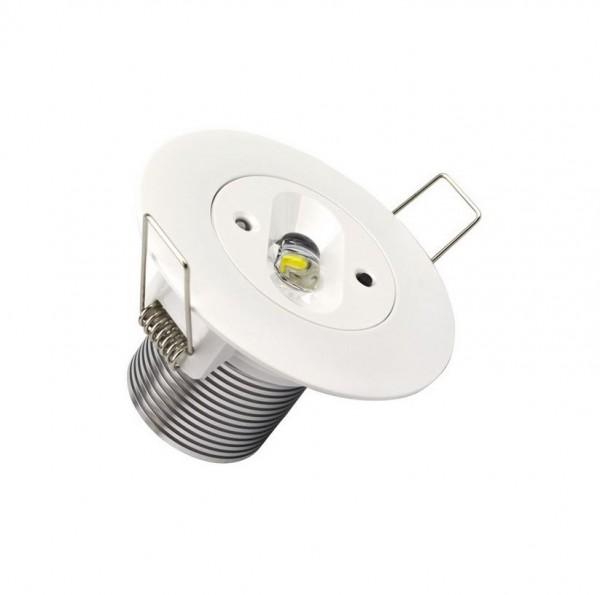 LED Einbaustrahler/ Downlight NOTBELEUCHTUNG 5 Watt