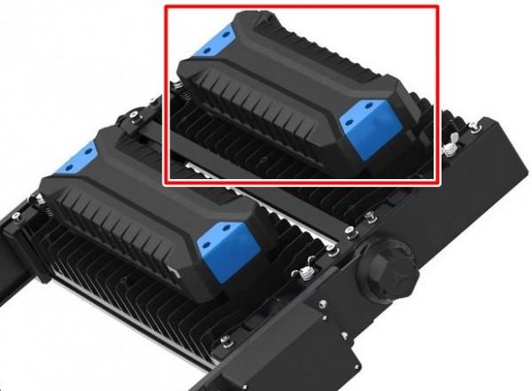 LED Ersatzmodul 250 Watt zu Flutlichtstrahler IP66 Dimmbar 1-10V