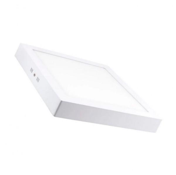 LED Wand- und Deckenleuchte, 48 Watt, Lichtfarbe 3000K nwarmweiß, ~3800lm, 60x60cm