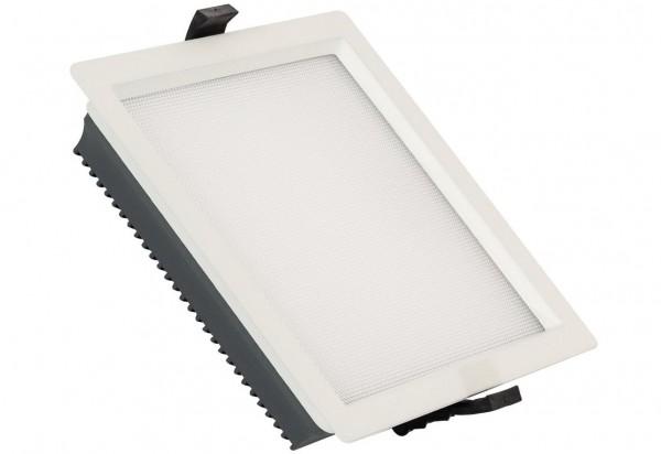 LED Einbaustrahler/ Downlight eckig, 30 Watt, Lichtfarbe: 3000K warmweiß