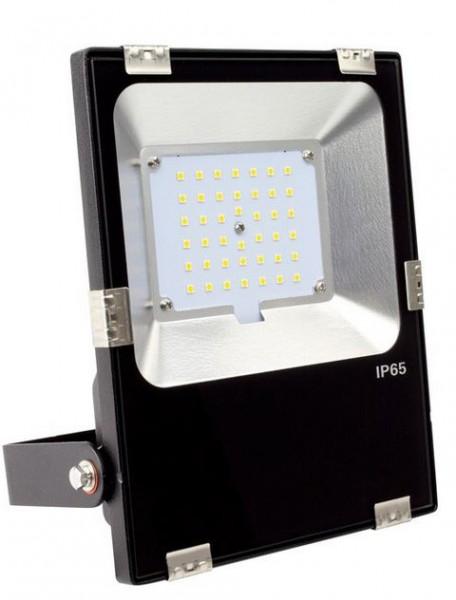 LED Außenstrahler IP65, 30Watt, Lichtfarbe 6000K tageslichtweiß, 3600lm