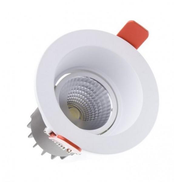 LED Einbaustrahler/ Downlight LEDL-10-830-9010-D90, 3000K, 750 lm; 10W