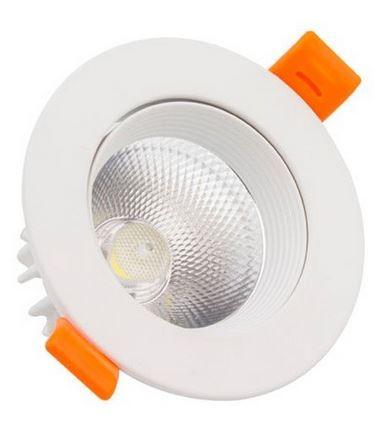 LED Einbaustrahler/ Downlight schwenkbar LEDL-3-860-D83, 6000K, 3W, 250 lm