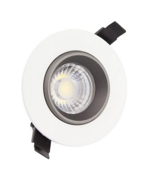 LED Einbaustrahler/ Downlight schwenkbar 360° Lichtfarbe 3000K warmweiß