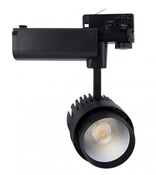 LED Stromschienenstrahler 30 Watt, Lichtfarbe 4000K neutralweiß, 2350lm