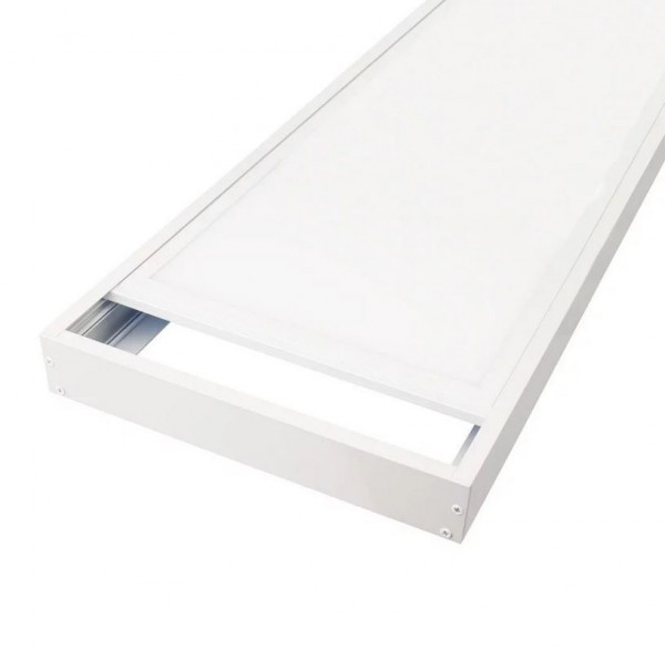 Rahmen für LED Panel zur Aufputzmontage 60 x 30cm
