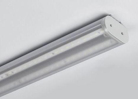 LED Lichtbandleuchte 150cm satiniert, >5290lm effektiv, 34,5W Watt Systemleistung