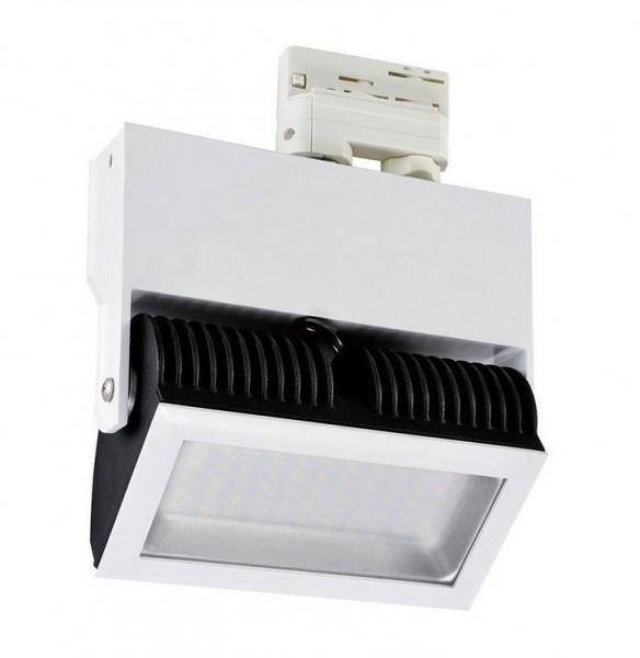 LED Stromschienenstrahler S3, 38 Watt, Lichtfarbe 5500K tageslichtweiß