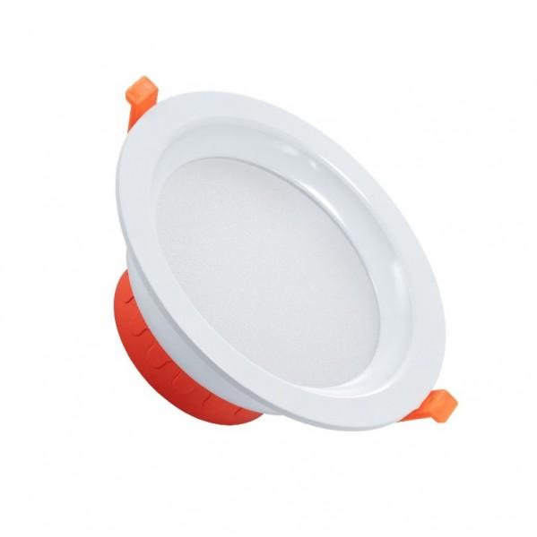 LED Einbaustrahler/ Downlight IP44, 16 Watt, Lichtfarbe 4000K neutralweiß