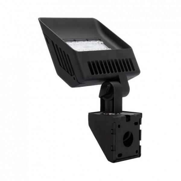 LED Außenstrahler schwarz, Beleuchtung für Firmenschilder IP65, 30Watt