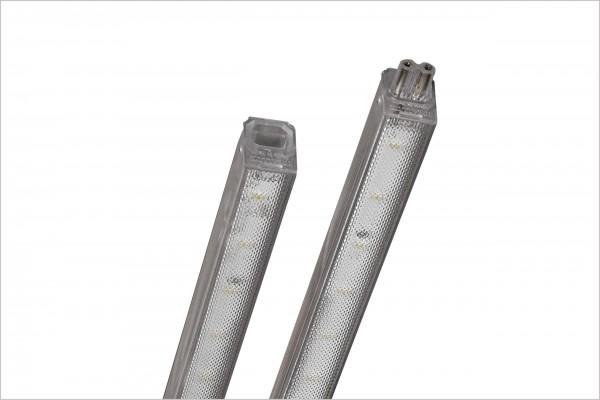 LED Leuchte mit Steckverbindung 603mm mikroprismatisch, 8 Watt