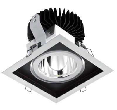 LED Einbaustrahler/ Downlight eckig LDL-37-830-3058-9010 3000K