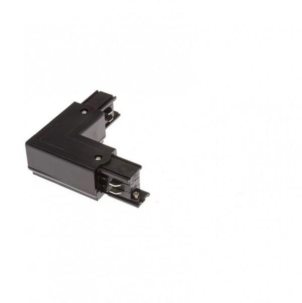 LED Stromschiene S3 Winkel-Verbinder schwarz rechts