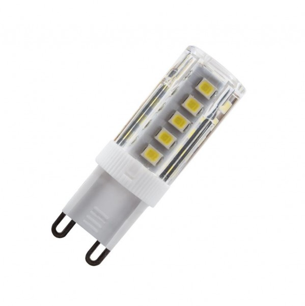 LED Spot 220V Sockel G9, 2,5 Watt, Lichtfarbe 6000K tageslichtweiß, ~240 lm LED