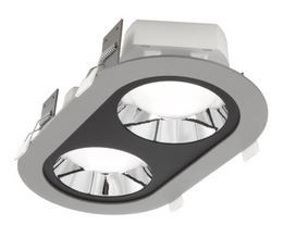 LED Einbaustrahler/ Downlight oval LDL-213-840-4521-9006, 4000K