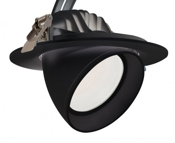 LED Einbaustrahler/ Downlight schwenkbar 38 Watt Lichtfarbe wählbar