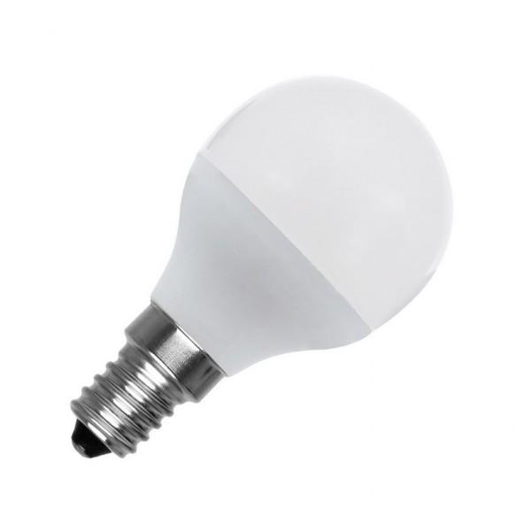 LED Lampe Glühlampenform E14, 5 Watt, Lichtfarbe 6000K tageslichtweiß, ~400lm