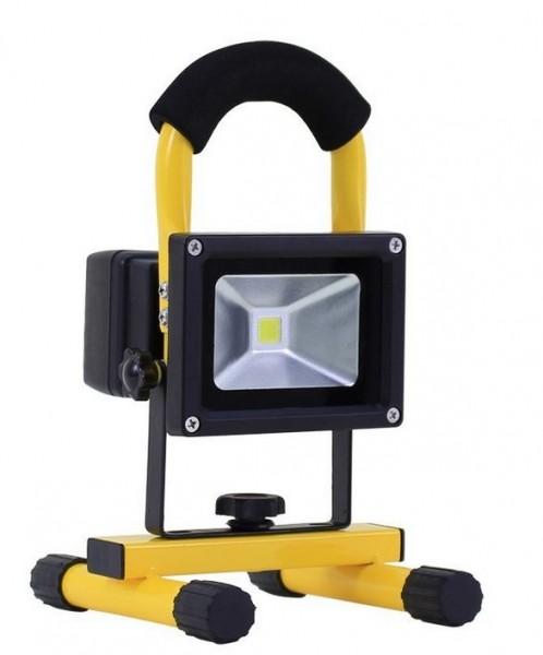 LED Baustellenstrahler Akku IP44 LEFL-AS-860-10, 6000K, 10Watt