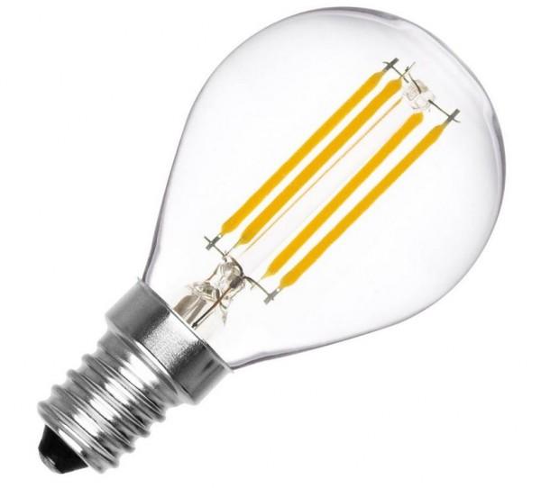 LED Lampe Filament Glühlampenform, 4 Watt, Lichtfarbe 2500K warmweiß, 390 LEDlm