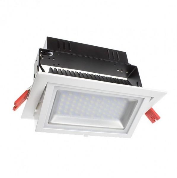 LED Einbaustrahler/ Downlight schwenk-, dimmbar 38 Watt, Lichtfarbe 4000K
