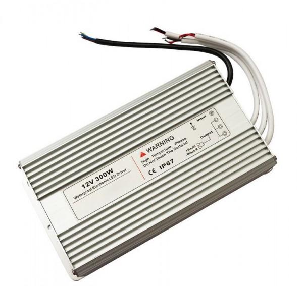 LED Poolbeleuchtung/ Netzteil 300Watt 12V IP67, Eingangsspannung 220-240V