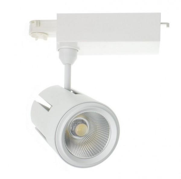LED Stromschienenstrahler 40 Watt, 2950lm, Lichtfarbe 4000K
