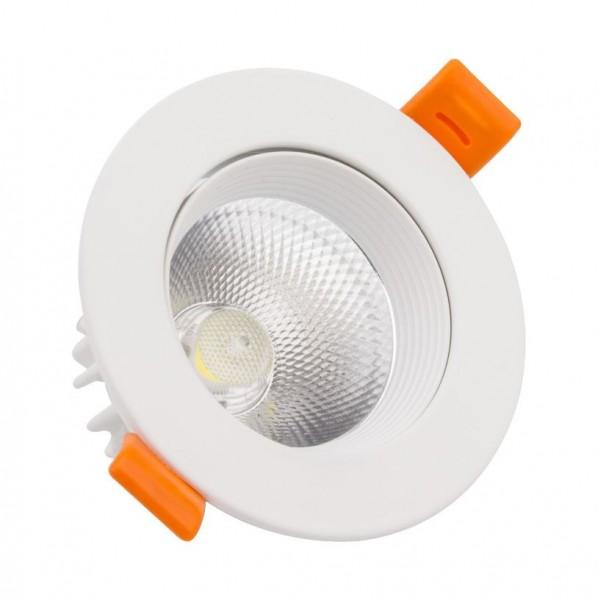 LED Einbaustrahler/ Downlight schwenkbar 15 Watt, Lichtfarbe 4500K neutralweiß