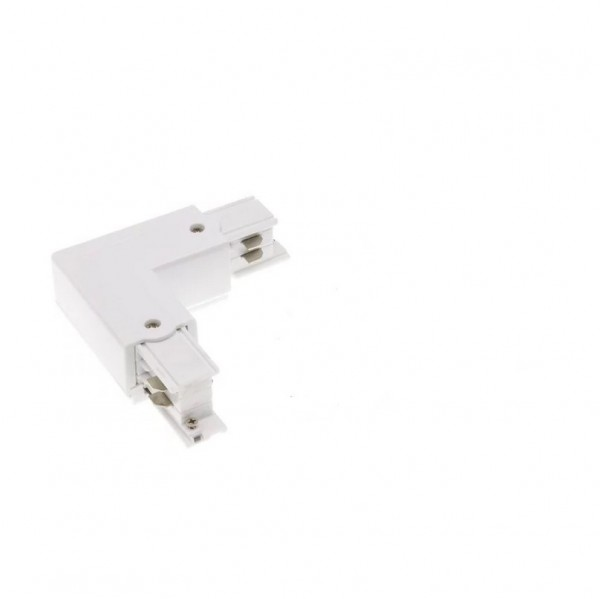 LED Stromschiene S3 Winkel-Verbinder weiß rechts