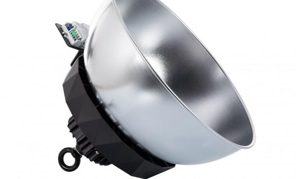 LED Hallenstrahler/ Industriestrahler 150 Watt mit Dämmerungsschalter und Bewegungssensor, dimmbar