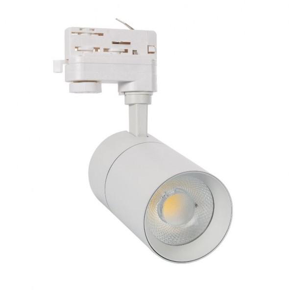 LED Stromschienenstrahler 30 Watt, 3-phasig, dimmbar mit einstellbarer Lichtfarbe