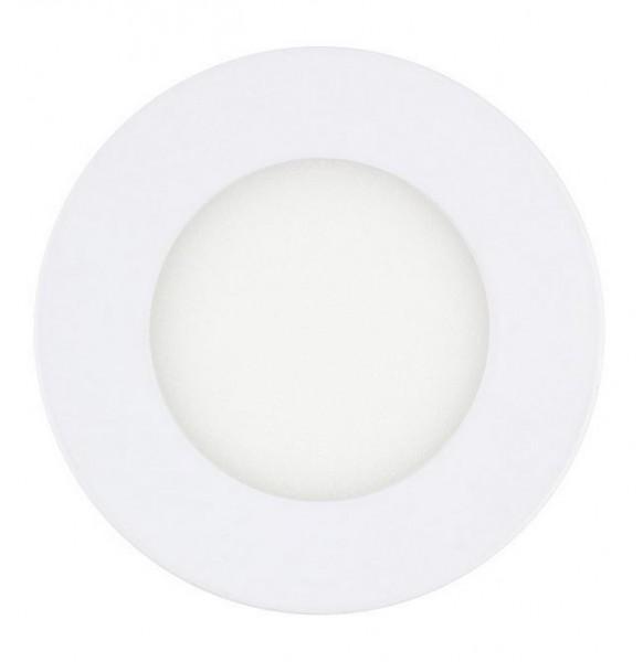 LED Einbaustrahler/ Downlight LEDL-3-830-9010-D85, 3000K, 220 lm; 3W, weiß