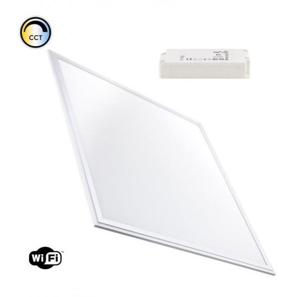 LED Panel 600 x 600mm dimmbar+ Lichtfarbe wählbar per WIFI, 40 Watt