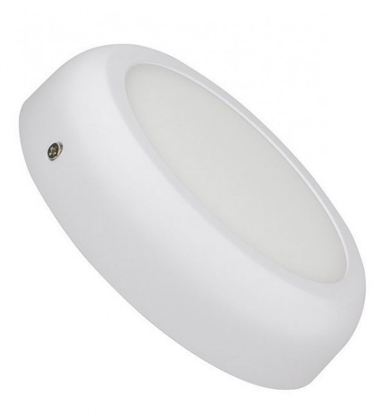 LED Wand- und Deckenleuchte LEDWL-12-860-170, 6000K, 1050 lm, 12W, Abmessungen Ø170 mm x 44 mm, Abs