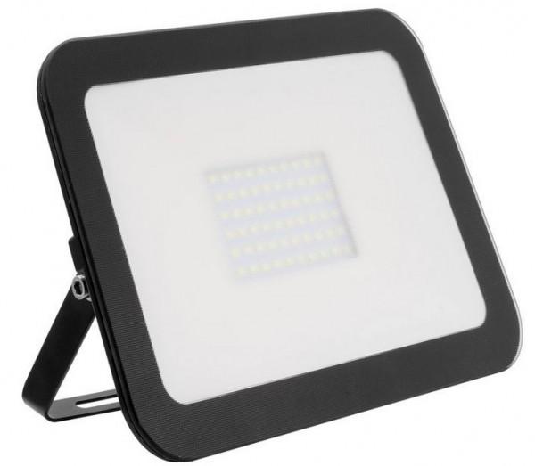 LED Außenstrahler IP65, 50 Watt, Lichtfarbe 3000K warmweiß, 6000 LED Lumen