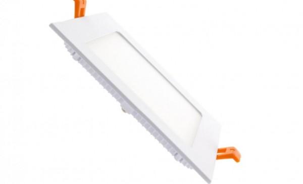 LED Minipanel quadratisch, 12W, Lichtfarbe 4000K neutralweiß