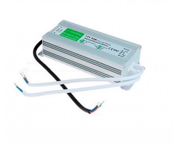 LED Poolbeleuchtung/ Netzteil 60Watt 12V IP67, Eingangsspannung 100-264V A