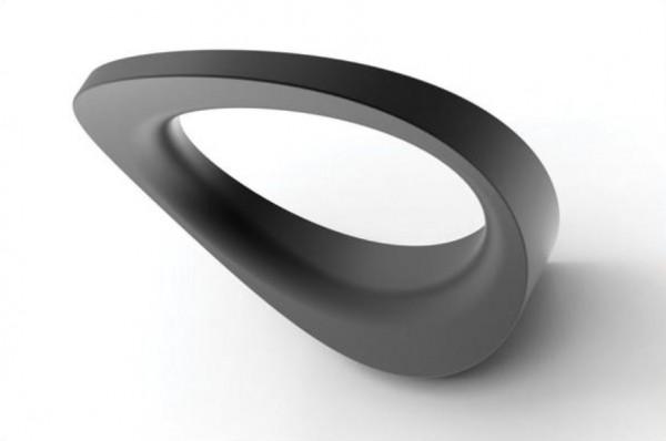 LED Designer Wandleuchte 2600 lm, 26W, Lichtfarbe 3000K warmweiß