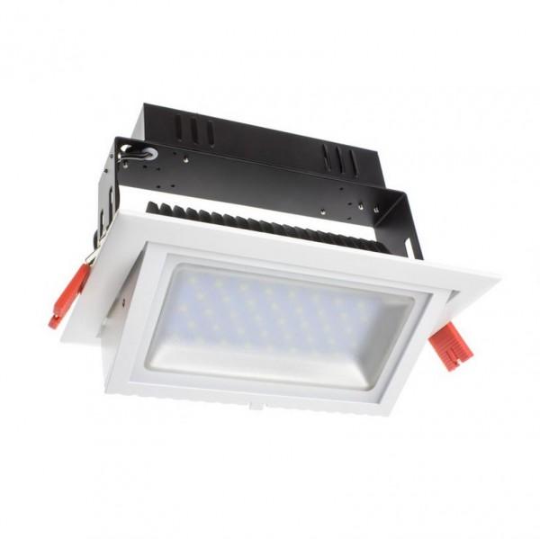 LED Einbaustrahler/ Downlight schwenkbar 20 Watt dimmbar, 20W, Lichtfarbe 4000K