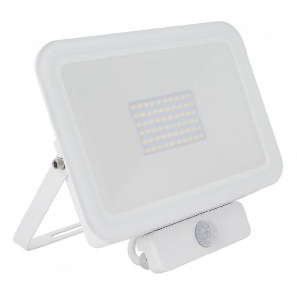 LED Außenstrahler 50 Watt IP65 mit Bewegungsmelder, 50 Watt, Lichtfarbe 4500K