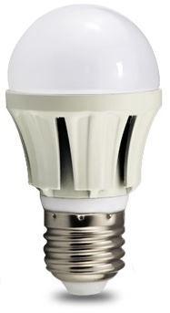 LED Lampe Glühlampenform LEB-E27-7-830, Lichtfarbe 3000K, 7 Watt, 630lm