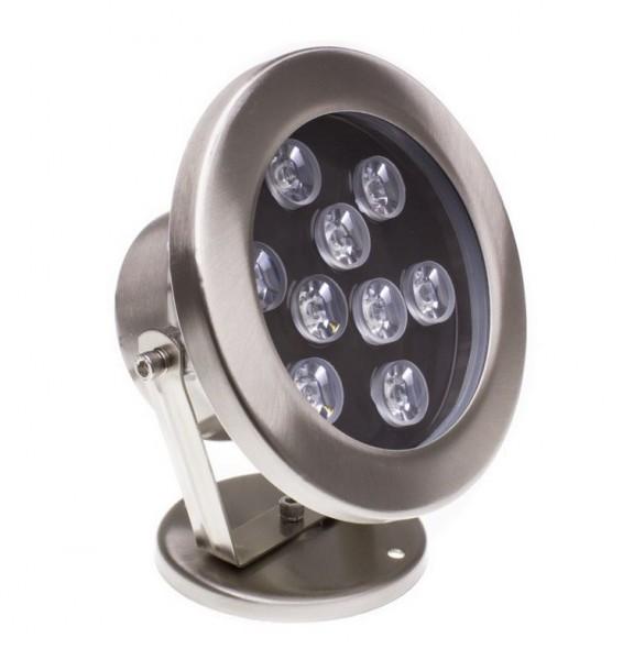 LED Poolbeleuchtung/ Pool-Leuchte Aufbau IP68, RGB 9W, 910lm