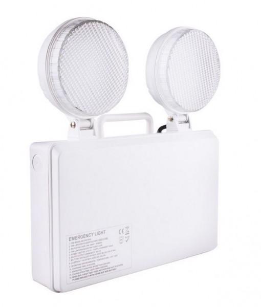 LED Notleuchte mobil/ Wandmontage, 3 Watt, 18mA, 400lm, 3,6V , 4,5Ah